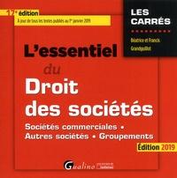 Lessentiel du droit des sociétés - Sociétés commerciales, autres sociétés, groupements.pdf