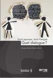 Béatrice Jaluzot - Droit japonais, droit français, quel dialogue ?.