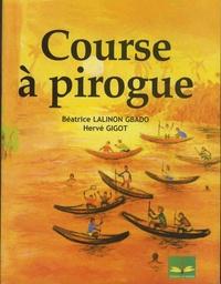 Béatrice Lalinon Gbado et Hervé Gigot - Course à pirogue.