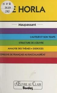 Béatrice Lausdat et Christian Gambotti - Le Horla, Maupassant.