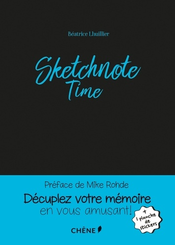 Béatrice Lhuillier - Sketchnote Time.