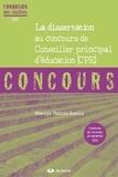 Béatrice Mabilon-Bonfils - La dissertation au concours de Conseiller principal d'éducation.