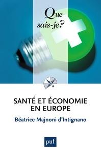 Béatrice Majnoni d'Intignano - Santé et économie en Europe.