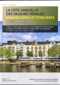 Béatrice Moullé - Valeurs vénales immobilières et foncières au 1er janvier 2020.