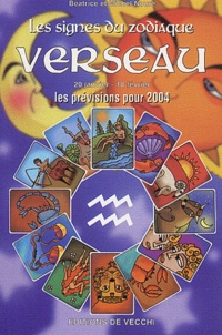 Histoiresdenlire.be Verseau - Les prévisions pour 2004 Image