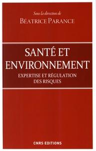 Béatrice Parance - Santé et environnement - Expertise et régulation des risques.