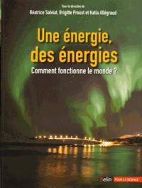 Béatrice Salviat et Brigitte Proust - Une énergie, des énergies - Comment fonctionne le monde ?.