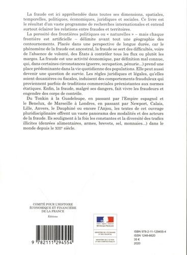 Fraudes, frontières et territoires XIIIe-XXIe siècle