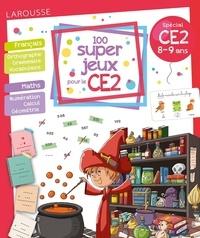 Béatrix Lot - 100 super jeux pour le CE2 - Fraçais Mathématiques.