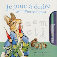 Beatrix Potter - Je joue à écrire avec Pierre Lapin.