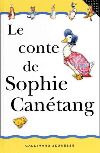Le Conte De Sophie Canetang De Beatrix Potter Album Livre Decitre