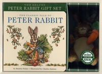 Beatrix Potter et Charles Santore - The Deluxe Peter Rabbit Gift Set - Four Classic Board Books with a Peter Rabbit Plush.