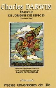 Becquemont - Ebauche de l'origine des espèces - Essai de 1844.
