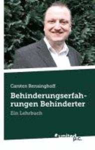 Behinderungserfahrungen Behinderter - Ein Lehrbuch.