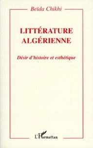 Deedr.fr LITTERATURE ALGERIENNE. Désir d'histoire et esthétique Image