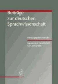 Beiträge zur deutschen Sprachwissenschaft.