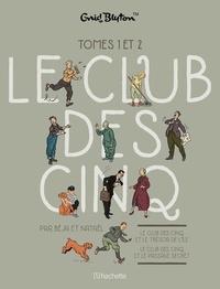 Béja et  Nataël - Le Club des Cinq (BD)  : Coffret en deux volumes : Tome 1, Le club des cinq et le trésor de l'île ; Tome 2, Le Club des Cinq et le passage secret.