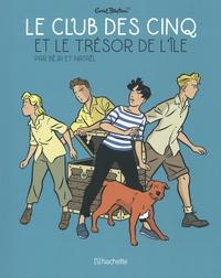 Béja et  Nataël - Le Club des Cinq (BD)  : Le Club des Cinq et le Trésor de l'île.