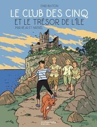 Béja et  Nataël - Le Club des Cinq (BD) Tome 1 : Le Club des Cinq et le trésor de l'île.