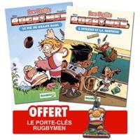 BeKa - Les petits rugbymen tome 1 et 2.