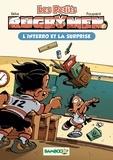 BeKa et  Poupard - Les Petits Rugbymen Tome 2 : L'interro et la surprise.