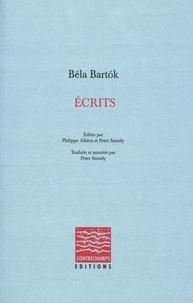 Béla Bartók - Ecrits.