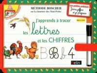 Belin - Ardoises Boscher - Les lettres et les chiffres - Dès 4 ans.