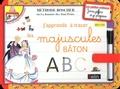 Belin - Ardoises Boscher Les majuscules bâton - Dès 4 ans.