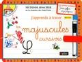 Belin - Ardoises Boscher - Les majuscules cursives - Dès 4 ans.