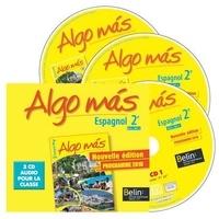 Belin - Espagnol 2e Algo Mas Programme 2010 - 3 CD audio pour la classe.