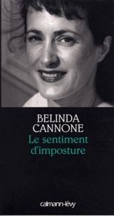 Belinda Cannone - Le Sentiment d'imposture - Prix de la Société des Gens de Lettres 2005.