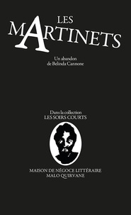 Belinda Cannone - Les martinets.