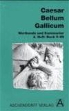 Bellum Gallicum. Wortkunde und Kommentar. Heft 2, Buch V-VII.