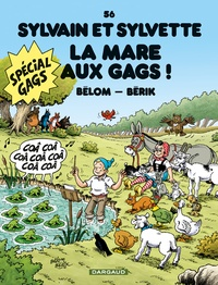 Bélom et  Bérik - Sylvain et Sylvette Tome 56 : La mare aux gags !.