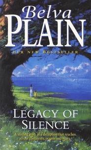 Belva Plain - Legacy of Silence.