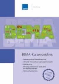 BEMA-Kurzverzeichnis.