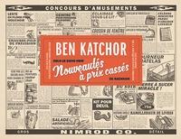 Ben Katchor - Nouveautés à prix cassé - Les plaisirs de la déliquescence urbaine avec Julius Knipl, photographe immobilier.