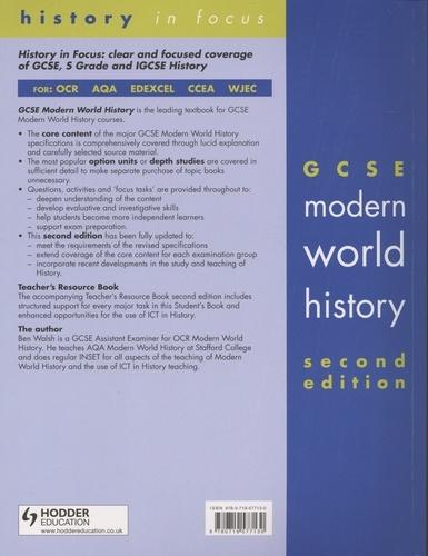 GCSE Modern World History. Student's book 2nd edition