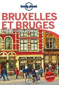 Benedict Walker et Helena Smith - Bruxelles et Bruges en quelques jours. 1 Plan détachable