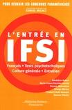 Bénédicte Aubert et Edwige Michez - L'entrée en IFSI.