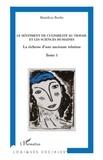 Bénédicte Berthe - Vers une analyse économique du sentiment de culpabilité au travail - Tome 1, Le sentiment de culpabilité au travail et les sciences humaines - La richesse d'une ancienne relation.
