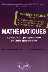 Bénédicte Bourgeois et Emmanuel Girard - Mathématiques - Le tour du programme en 365 questions.