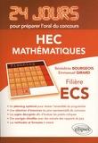 Bénédicte Bourgeois et Emmanuel Girard - Mathématiques - Concours HEC, filière ECS.