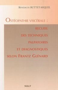 Birrascarampola.it Ostéopathie viscérale : recueil des techniques palpatoires et diagnostiques selon Frantz Glénard Image