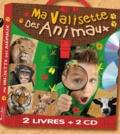 Bénédicte Carboneill et Coralline Pottiez - Ma valisette des animaux - 100 comptines d'animaux ; Tout l'univers de la mer. 2 CD audio