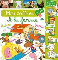 """Bénédicte Carboneill - Mon coffret """"A la ferme"""". 1 CD audio"""