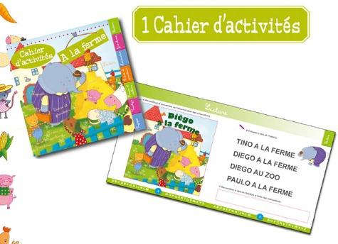"Mon coffret ""A la ferme""  avec 1 CD audio"