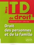 Bénédicte Dupont-Legrand et Geoffroy Hilger - Droit des personnes et de la famille.
