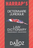 Bénédicte Fauvarque-Cosson et Robin Lööf - Dictionnaire juridique français-anglais Harrap's : Law dictionary english-french Harrap's.