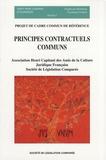 Bénédicte Fauvarque-Cosson et Denis Mazeaud - Principes contractuels communs - Projet de cadre commun de référence.